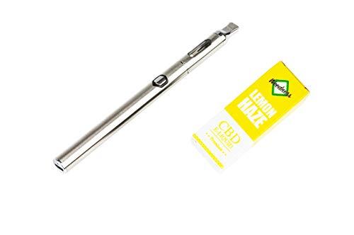 Weedness CBD Öl E-Liquid Super Lemon Haze 1000 mg + CBD Vaporizer Pen - Pen Bio Hanföl Starterset E-Zigarette Verdampfer Dampf Set Oil