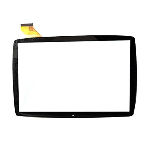 EUTOPING Nero Colore Nuovo di Zecca 10.1 Centimetro Touch Screen del digitizer La Sostituzione per Lisciani Giochi 10.1 MP0101066