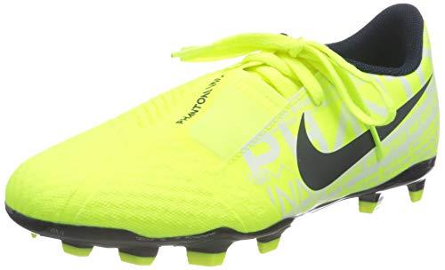 Nike Nike Jr. Phantom Venom Academy Fg, Unisex Kid's Football Boots, Green (Volt/Obsidian/Volt 717), 4 UK (36.5 EU)