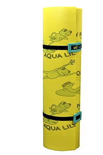 Aqua Lily The Pad 17' x 6' Floating Foam Mat Water Mat for Lakes or Pools