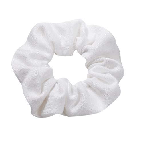 LILIHOT Frauen Elastisches Haar Seil Ring Krawatte Scrunchie Pferdeschwanz Inhaber Haarband Stirnband Samt Haargummis Dicke Haarband Haarbänder Gummiband Haarschmuck Haar Accessoires Haargummi