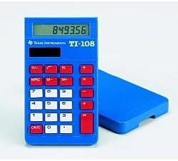 Calculator, Beginner's, TI-108