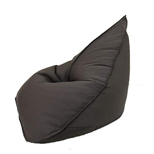 LKK-KK Perezoso sofá bolsa de frijoles, interior y exterior resistente al agua bolsa de frijoles de guisantes cachemira sofá perezoso habitación individual silla de salón dormitorio, niños y adultos f