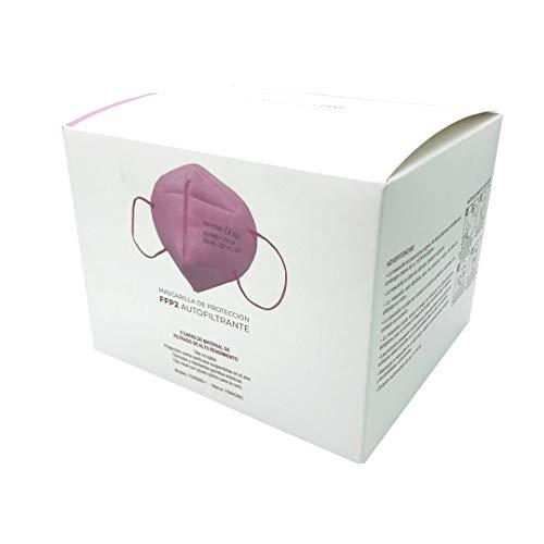 Mascarilla De Protección Ffp2 Autofiltrante Color