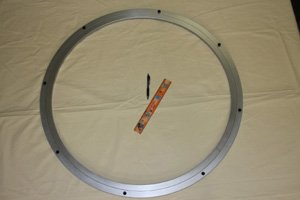 500mm Lazy Susan Aluminum Bearing 550 lbs Turntable Bearings