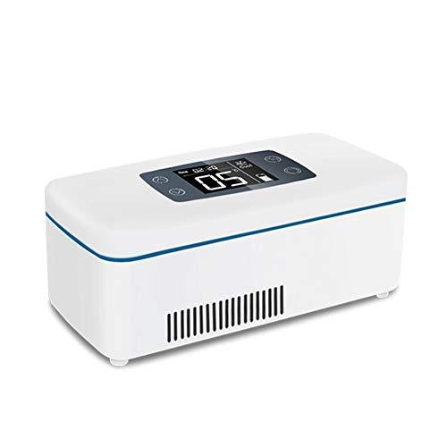Kizen Mini Portable Insulin Kühltasche Diabetic Insulin Drug Travel Case Pill Kühlbox für Diabetic Medicine Vaccine Cold Box,12hrs(interbatt)