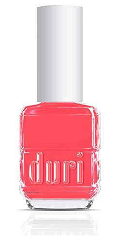 duri Nail Polish, 74 Coral Conquest, Pinkish Coral, Opaque, Glossy, 0.5 fl.oz.