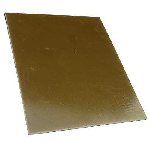 AERZETIX: Piastra foglio di rame per circuito stampato 200/150/1.5mm 35µm resina epossidica fibra di vetro C40719