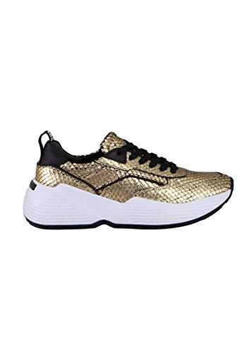 KENNEL&SCHMENGER Sneaker Yuko Schnürer Metallic Gold Größe 37.5