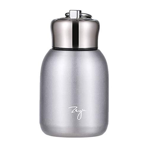 TOPBATHY Copo isolado a vácuo, copo térmico de aço inoxidável, caneca portátil, garrafa de água, bebidas geladas, bebidas quentes para casa, escritório, ar livre