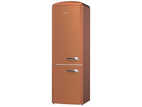Gorenje ONRK193CR-L Libera installazione 307L A+++ Rame frigorifero con congelatore