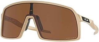 نظارات شمسية من Oakley للرجال OO9406 Sutro مستطيلة الشكل، بلون بني مصفر/بريزم تنغستين الصحراء، 37 ملم