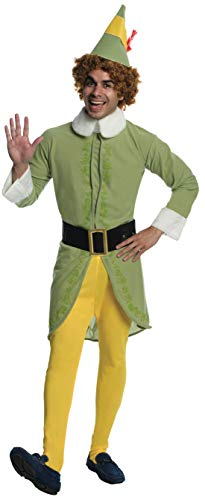 Rubie's Men's Movie Buddy The Elf Costume, As Shown, Standard