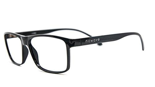NOWAVE Occhiali neutri per PC, Tablet, TV e Gaming   Eliminano stanchezza visiva e mal di testa   Montatura super leggera  Occhiali riposanti ANTI LUCE BLU 40% e UV 100%   Landfall