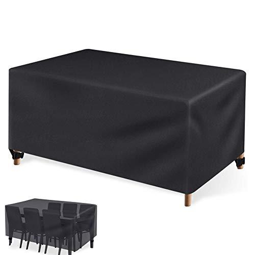 XGG Funda Protectora para Muebles de Jardín Funda Práctica para Sus Muebles de Jardín Mesas de Jardín y Juegos de Muebles, Impermeable 450D Oxford Transpirable70.86 * 47.25 * 29.13in