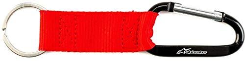 Alpinestars Erwachsene Schlüsselanhänger Snap Hook Key Fob, Rot, OS, 1119-94000