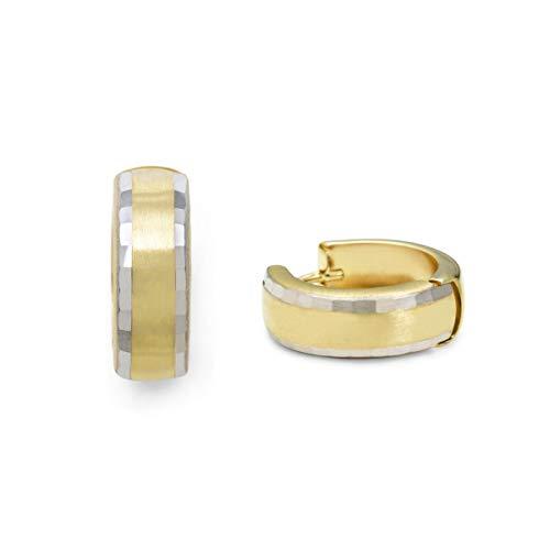 amor Creolen für Damen, Gold 375