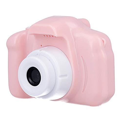 VEZOL Digital Camera, Recorder Camera 800W HD 2.0 Inch Screen Video Front Camera Child Camera (Blue) - BB16 (Pink)