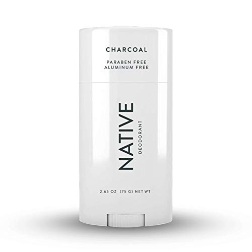 Native Deodorant - Natural Deodorant for Women and Men - Vegan, Gluten Free, Cruelty Free - Aluminum Free, Free of Parabens and Sulfates - Charcoal