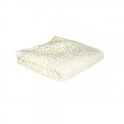 SAIF Toallas de baño de Mano 100% algodón Egipcio, Hotel, Crema, Toalla de baño