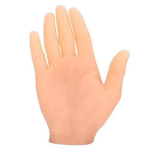 Mâle adulte main facile à utiliser faux tatouage main, main humaine, facile à colorier artistes de tatouage pratique artistes à la main débutants pour artistes main moule(Right hand)