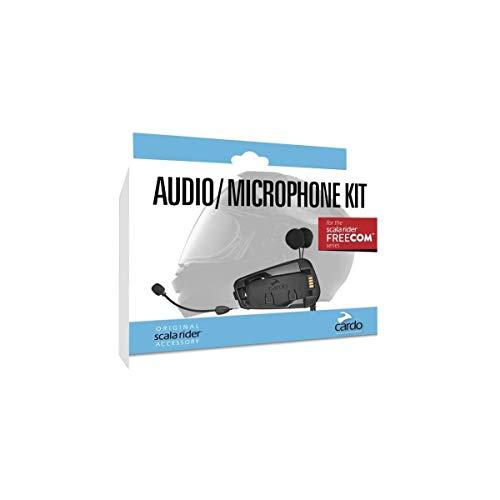 Cardo Systems SRAK0035 Audio und Mikrofon-Set für Freecom-Modelle, Schwarz