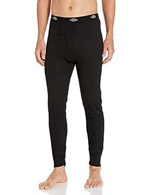 Dickies Men's Technical Wool Thermal Bottom, Black, X-Large