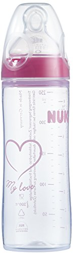 NUK First Choice PP-Flasche Silikon Sauger Gr.2M, 250 ml