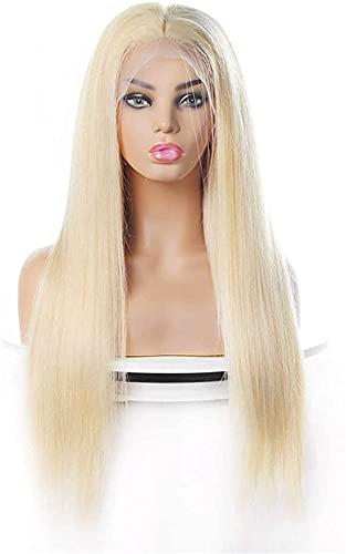 Schöne lange gewellte Perücke Perücken Perücken Lange Straight Haar Damen Menschliches Haar Rose Mesh Kopfbedeckungshaare Die Kopfbedeckungsgröße kann frei echtes...