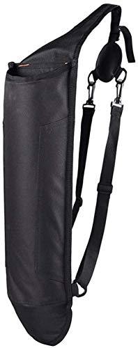 SGerste - Bolsa de hombro para entrenamiento de caza (negro)