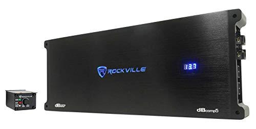 Rockville dBcomp5 Mono Competition Amplifier 3500w RMS! Car Audio Amp