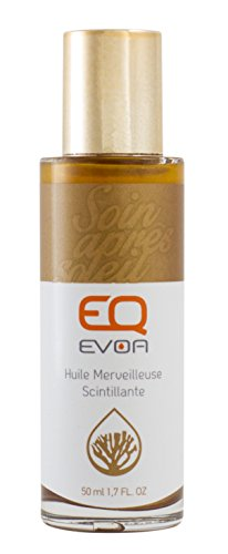 EQ | Aceite Centelleante Maravilloso - Aceites vegetales orgánicos (albaricoque, buriti, cártamo, girasol, oliva, aloe vera) - Cuerpo, cabello y cara - Hidrato y sublime - Natural - 50 ml