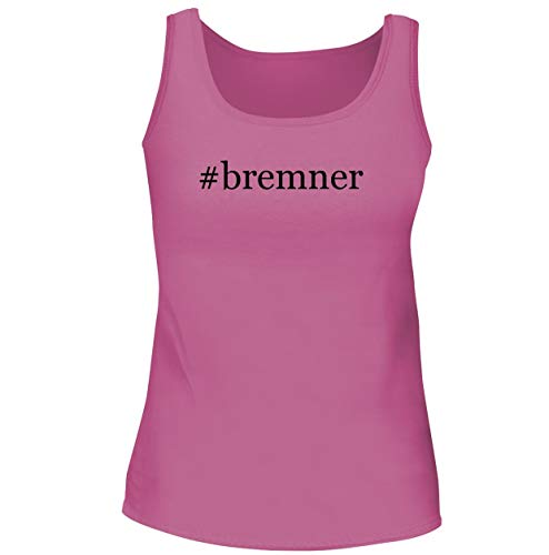 #bremner - Women's Soft & Comfortable Hashtag Tank Top, Pink, Large