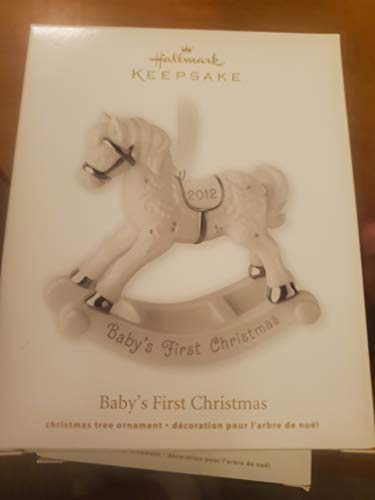 Hallmark Ornament 2012 Baby's First Christmas Rocking Horse