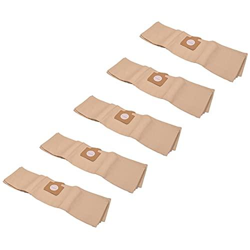 vhbw 50x bolsa compatible con Progress P65 aspiradora - papel, marrón