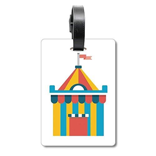 Amazing Funny Park - Etiqueta de identificación para Tienda de campaña