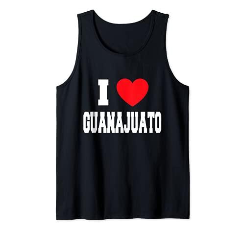 I Love Guanajuato Camiseta sin Mangas