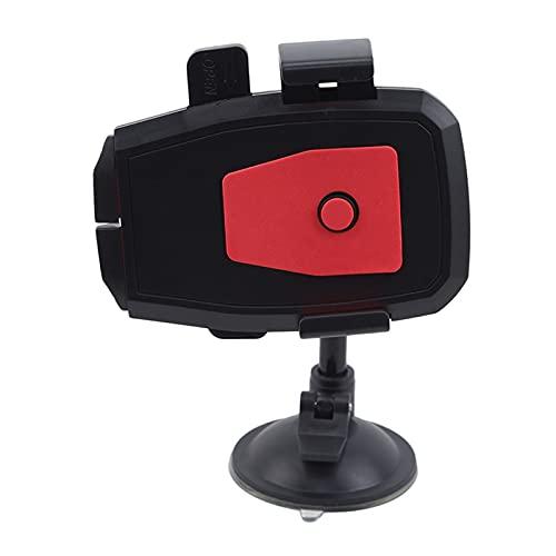 Porta Movil Para Coche Soporte de teléfono nuevo Soporte de la taza del soporte del soporte universal del coche Sujeta Movil Coche (Color : Red)
