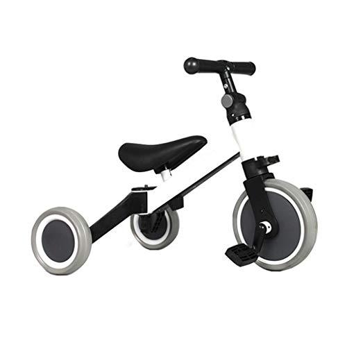 Puede ser utilizado como un cumpleaños triciclo niños y niñas de la asamblea de regalo es simple 2 años de edad, montando en triciclo for niños de dos tipos de modo de bicicleta de 3 ruedas chicos equ