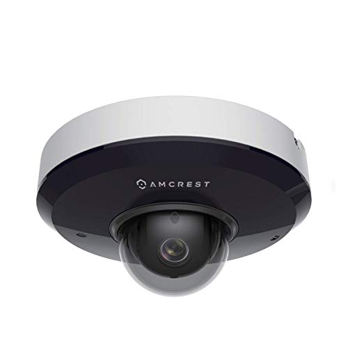 Amcrest ProHD 1080P PTZ PoE Security Camera, 2MP Outdoor Vandal Dome IP PoE...