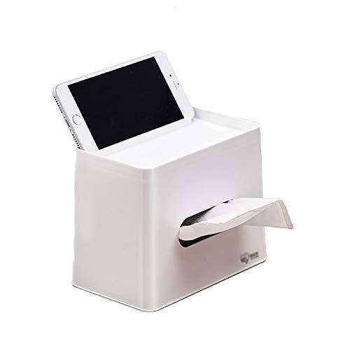 Caja Pañuelos La caja dispensadora de tejido simple y generosa es adecuada para varios estilos de muebles para el hogar, las cajas de soporte de tejido agregan un color diferente a la vida Dispensador