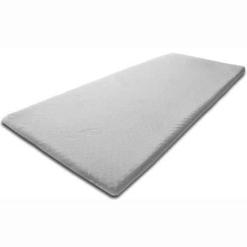 Pyramidenkönig Sommier - Topper 140cm x 200 centimetri x 5cm visco elastico materasso pad rispetto durezza 2 gel materasso in pannelli acustici di memoria tampone visco