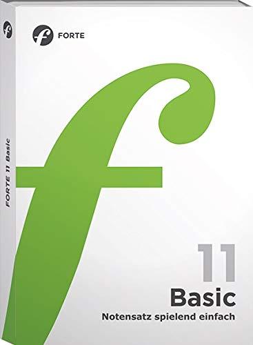 Preisvergleich Produktbild Forte 11 Basic: Notensatz spielend einfach