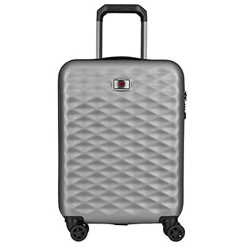 "Wenger Wenger Lumen 20"" Hardside Luggage Global Carry-On - Silver Maleta, 54 cm, 32 Liters, Plateado (Silver)"