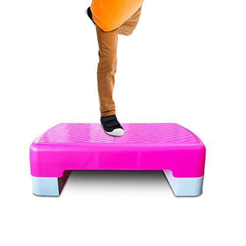 Grist CC Ajustable Step Plataforma, Steps De Aerobic Stepper Absorción De...