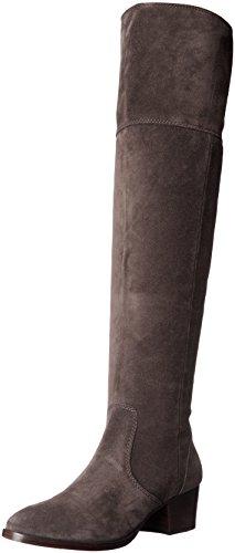 Frye Women's Clara OTK Slouch Boot, Smoke, 8.5 M US