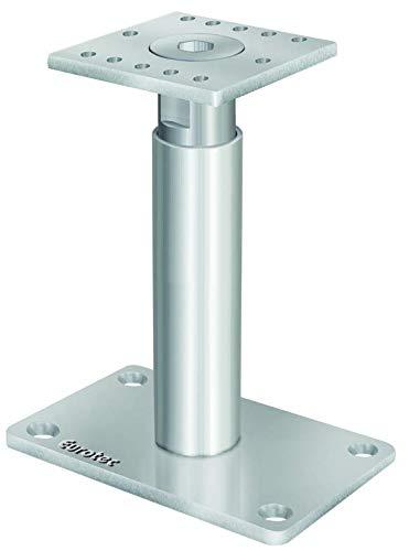 EUROTEC Pedix Pfostenträger, höhenverst. 190-290mm, unsichtbare Verschraubung