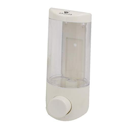 X-DREE ABS 350ML Capacity Wall-Mount Bathroom Liquid s-o-ap Dispenser Clear (798ad3ca-a222-11e9-8d7c-4cedfbbbda4e)
