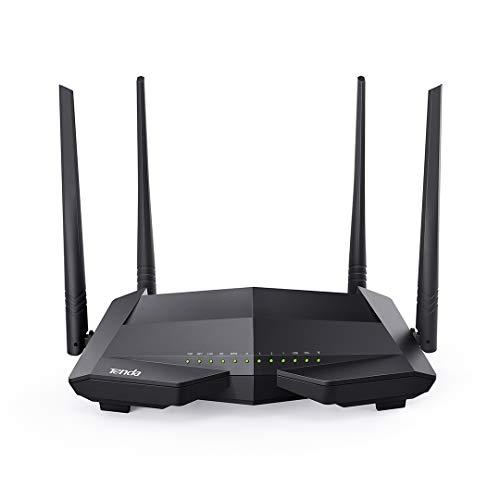Tenda V1200 Dual Band WLAN VDSL2 Modem Router (AC1200, VDSL2 ADSL2+ ADSL2 ADSL, 4x LAN, IPV6, IPTV, TR069, USB)