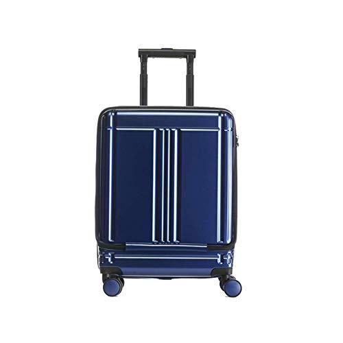 20 inch lichtgewicht en duurzame handbagage koffer met voorwiel en 4 wielen en TSA combinatieslot (54 * 38,5 * 24CM)